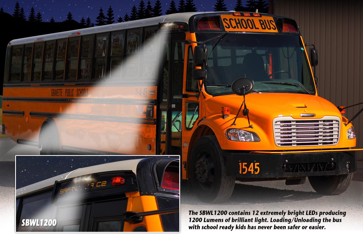 Sbwl1200 School Bus Exterior Lighting System