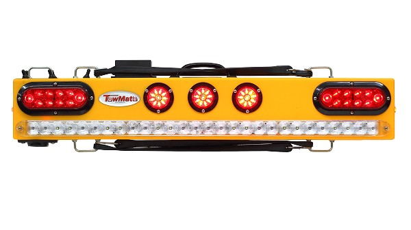 MO37 Lithium Powered Wireless Tow Light, Strobe and Worklight