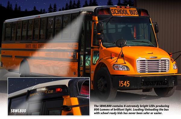 Sbwl800 School Bus Exterior Lighting System