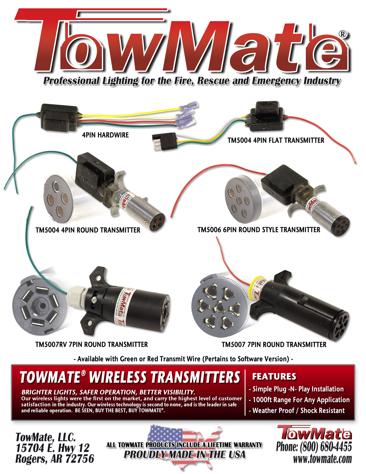 Towmate Wiring Diagram 22 Images Diagrams For Jerr Dan Light Bar Manuals Brochures Transmitters Combosheet 02 At